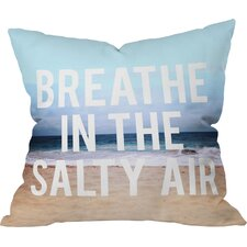 Leah Flores Breathe Indoor/Outdoor Throw Pillow