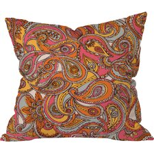 Valentina Ramos Spring Paisley Indoor/Outdoor Throw Pillow