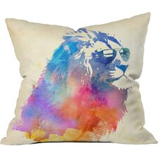 Robert Farkas Sunny Leo Indoor/outdoor Throw Pillow