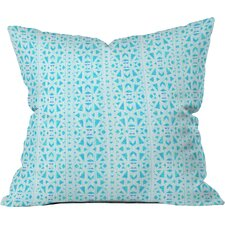 Hadley Hutton Floral Tribe Indoor/Outdoor Throw Pillow