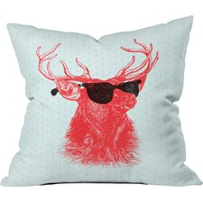 Sale Nick Nelson Young Buck Indoor/Outdoor Throw Pillow