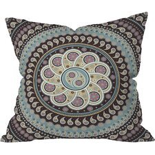 Belle13 Mandala Paisley Indoor/Outdoor Throw Pillow