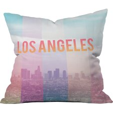 Catherine Mcdonald Los Angeles Indoor/outdoor Throw Pillow