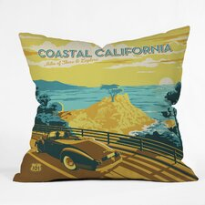 Anderson Design Group Coastal California Indoor/Outdoor Throw Pillow
