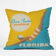 Purchase Anderson Design Group Dive Florida Indoor/Outdoor Throw Pillow