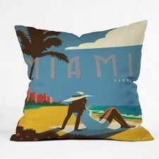 Anderson Design Group Miami Indoor/Outdoor Throw Pillow