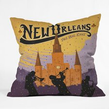 Anderson Design Group New Orleans 1 Indoor/Outdoor Throw Pillow