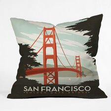 Anderson Design Group San Francisco Indoor/Outdoor Throw Pillow