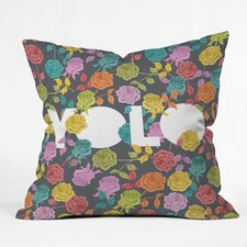 Bianca Green Yolo Indoor/Outdoor Throw Pillow