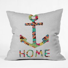 Bianca Green You Make Me Home Indoor/Outdoor Throw Pillow