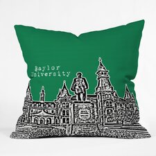 Bird Ave University Indoor/Outdoor Throw Pillow