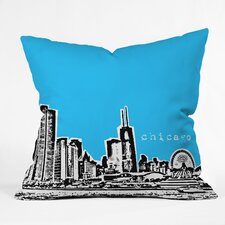 Bird Ave Chicago Indoor/Outdoor Throw Pillow