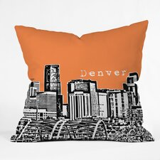 Bird Ave Denver Indoor/Outdoor Throw Pillow