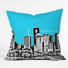 Bird Ave Houston Indoor/Outdoor Throw Pillow