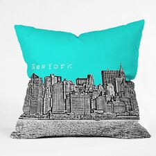 Bird Ave New York Indoor/Outdoor Throw Pillow