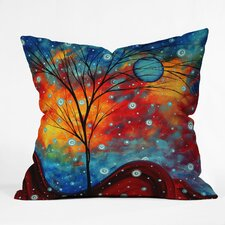 Madart Inc Summer Snow Indoor/Outdoor Throw Pillow