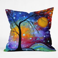 Madart Inc Winter Sparkle Indoor/Outdoor Throw Pillow