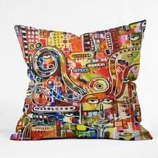 Robin Faye Gates It Came From Detroit Indoor/Outdoor Throw Pillow