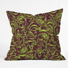 Wagner Campelo Abstract Garden Indoor/Outdoor Throw Pillow