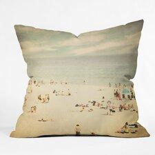 Shannon Clark Vintage Beach Indoor/Outdoor Throw Pillow
