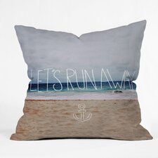 Leah Flores Lets Run Away Iii Indoor/Outdoor Throw Pillow