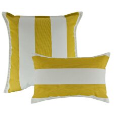 2 Piece Cabana Combo Outdoor Sunbrella Throw Pillow Set