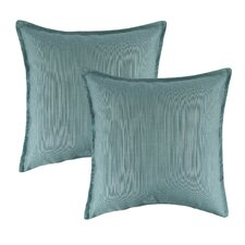 Dupione Outdoor Sunbrella Throw Pillow (Set of 2)