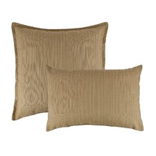 2 Piece Dupione Bamboo Combo Outdoor Sunbrella Throw Pillow Set