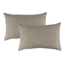 Discount Frequency Outdoor Sunbrella Lumbar Pillow (Set of 2)