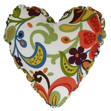 Reviews Wildwood Heart Indoor/Outdoor Throw Pillow
