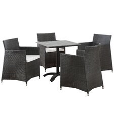 Junction 5 Piece Dining Set With Cushions