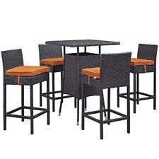 Convene 5 Piece Bar Set