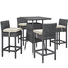 Summon 5 Piece Bar Set with Cushion
