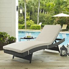 Sojourn Chaise Lounge with Cushion