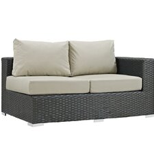 Sojourn Right Arm Loveseat Sectional Piece with Cushions