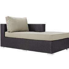Convene Right Arm Chaise Sectional Piece with Cushions