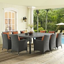 Sojourn 11 Piece Dining Set