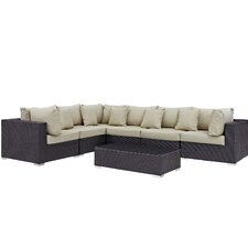 Great price Convene 7 Piece Deep Seating Group with Cushion