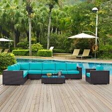 Savings Convene 7 Piece Deep Seating Group with Cushion