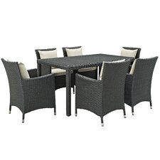Sojourn 7 Piece Dinning Set with Cushions