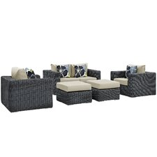 Summon 5 Piece Deep Seating Group