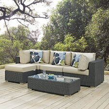 Sojourn 5 Piece Deep Seating Group