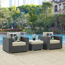 Sojourn 3 Piece Deep Seating Group