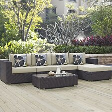 Best Choices Convene 5 Piece Deep Seating Group