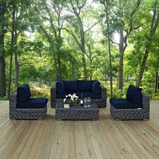 Summon 7 Piece Deep Seating Group with Cushion