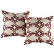 Outdoor Patio Throw Pillow (Set of 2)