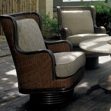 Wonderful Outdoor Palm Beach Swivel Rocker with Cushions