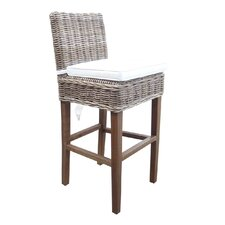 Boca Bar Stool with Cushion