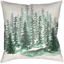 Lodge Cabin Throw Pillow