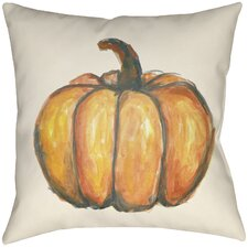 Lodge Cabin Squash Indoor/Outdoor Throw Pillow